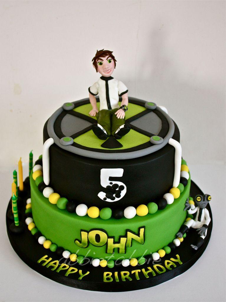 Ben 10 10 Birthday Cake Ben 10 Birthday Ben 10 Cake