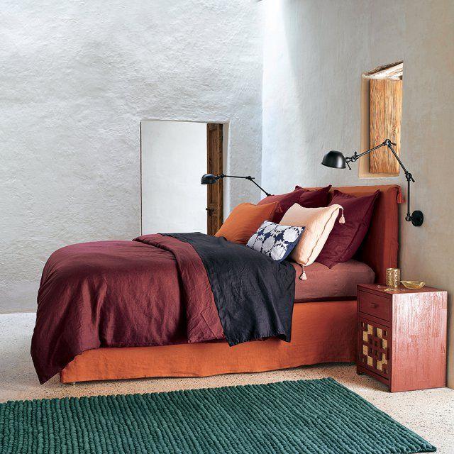 La chambre passe en mode été en 8 exemples réussis Bedrooms - couleur chaude pour une chambre