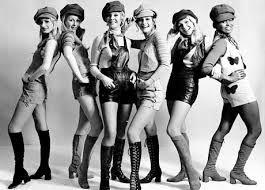 Swinging sixties fashion