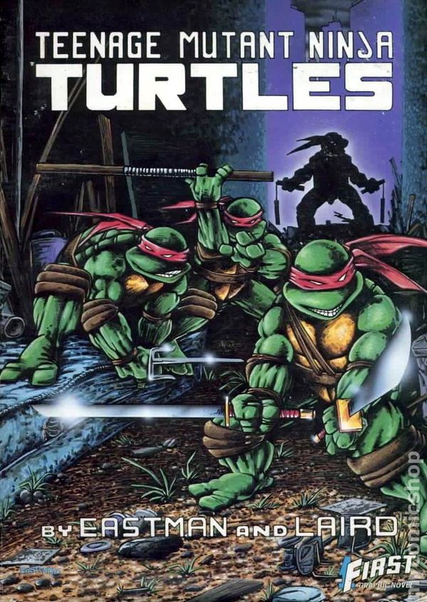 Tmnt Comic Book
