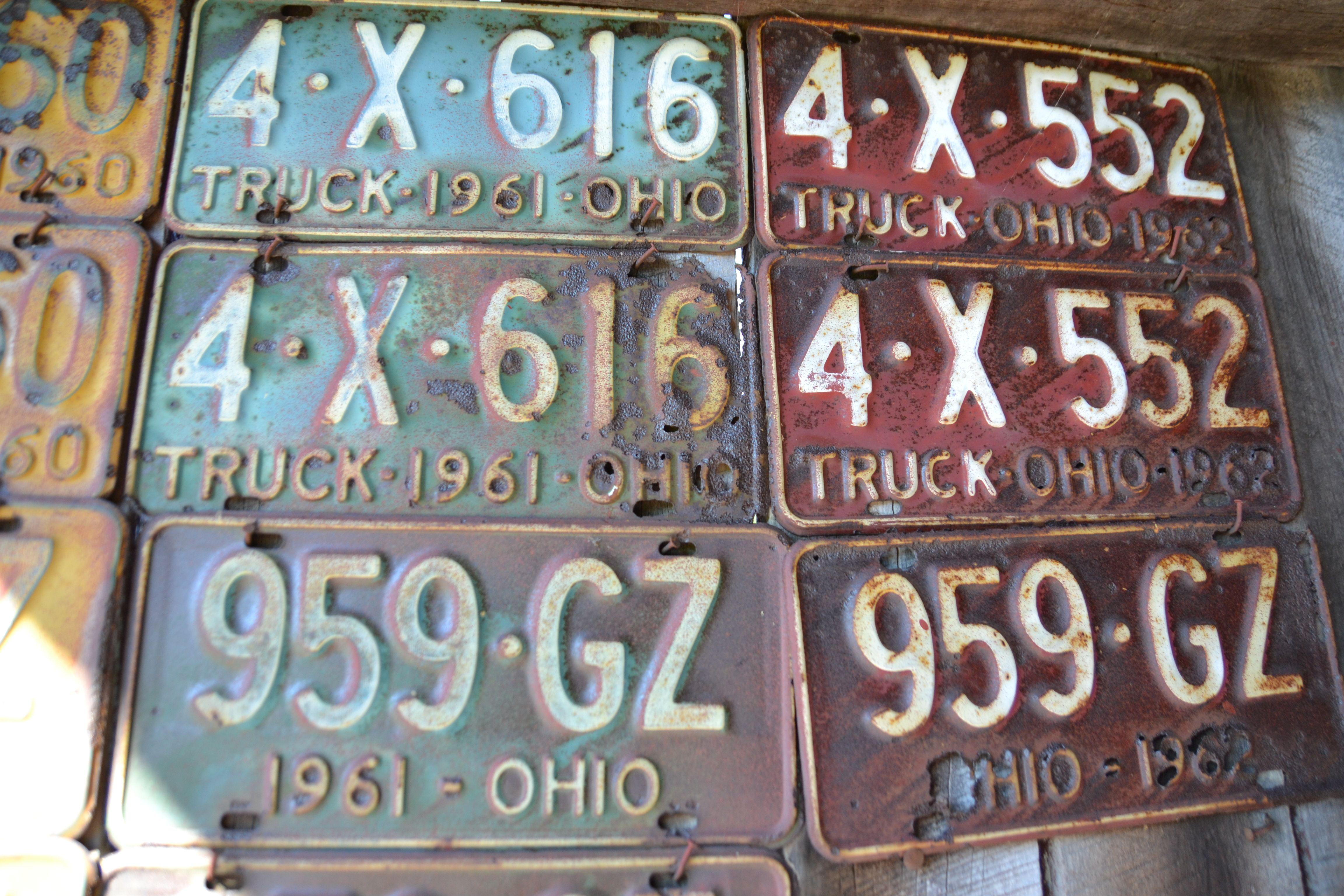 old license plates | Ohio | Pinterest | License plates
