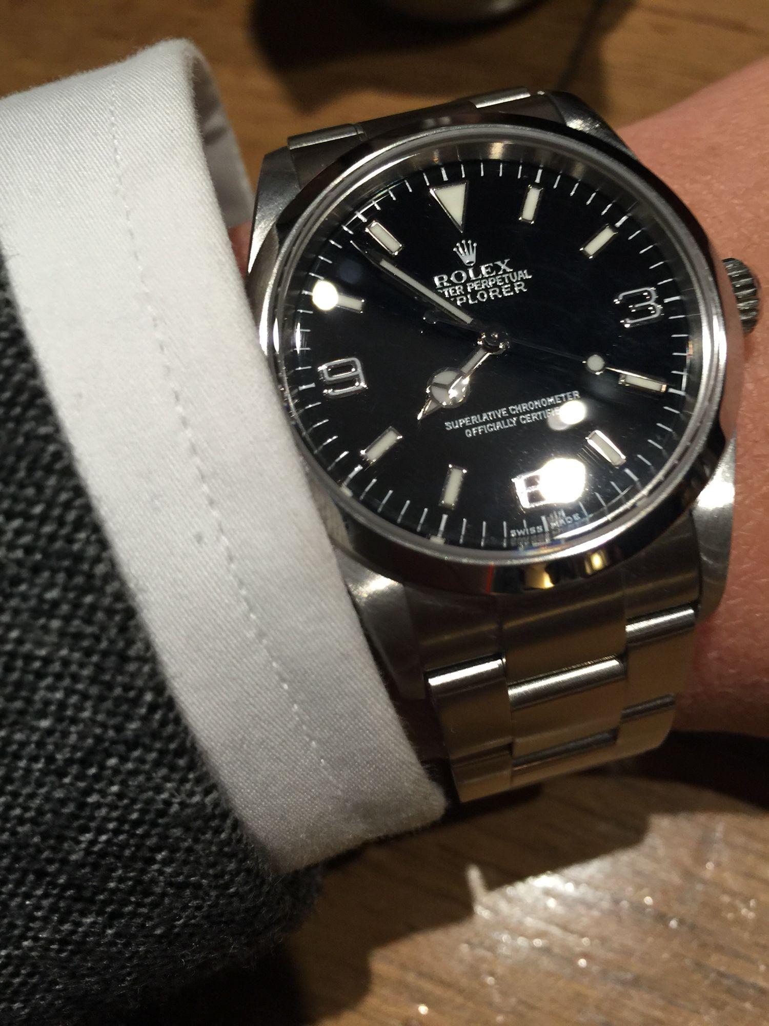 factory price dc664 25c9a Rolex Explorer 114270 | (Vintage)Watches【2019 ...