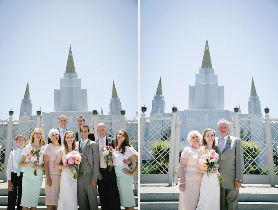oakland temple wedding photographer -- san francisco bay area