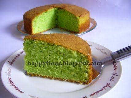 Happy Flour: Pandan Kaya Butter Cake