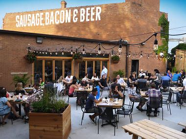 The best beer gardens in Chicago is part of garden Seating Restaurant - Beer garden season is fleeting in Chicago, so take advantage of the warm weather by grabbing a patio seat and a cold beer