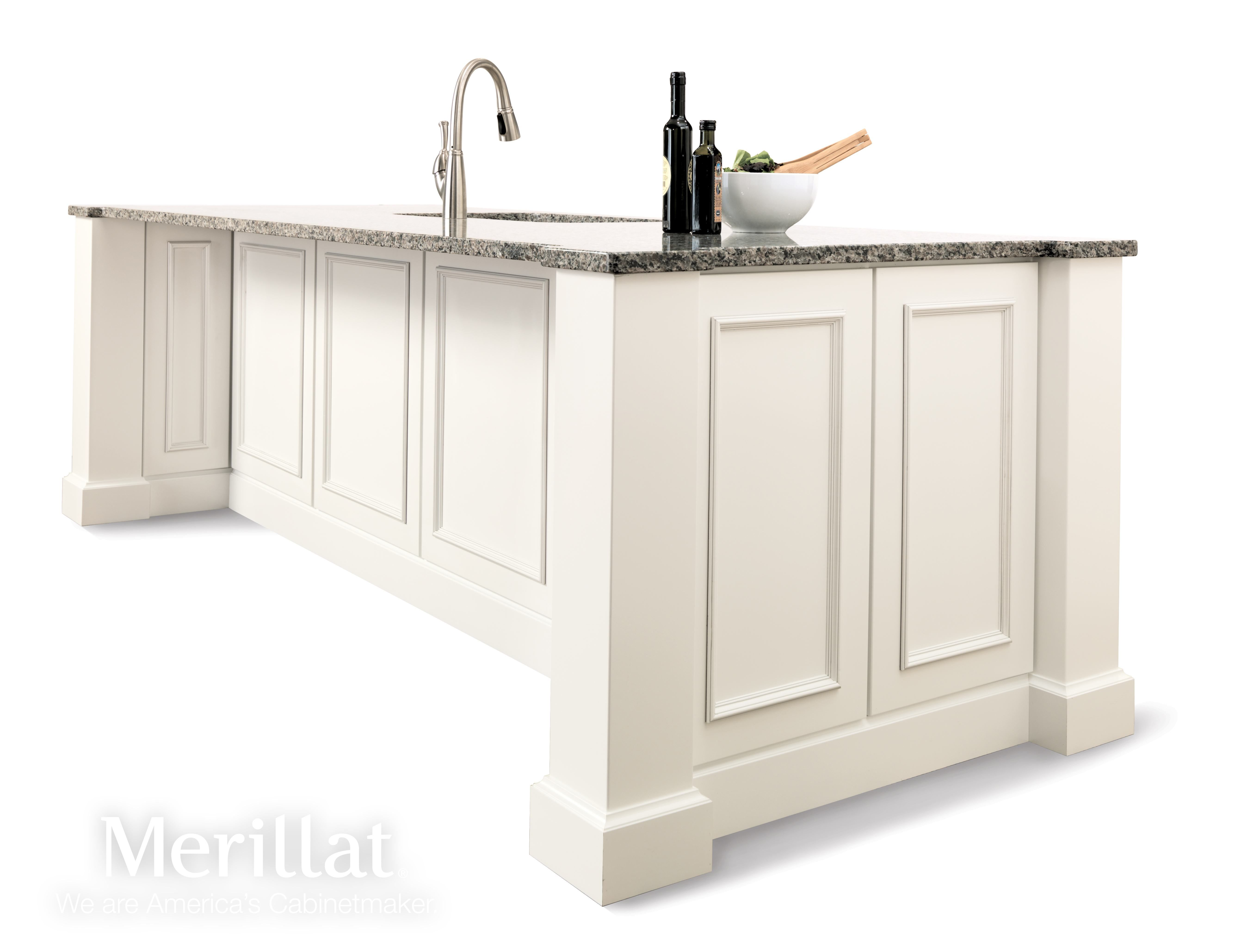 merillat classic cannonsburg maple cotton with tuscan glaze merillat cabinetry kitchen island - Merillat Classic Kitchen Cabinets