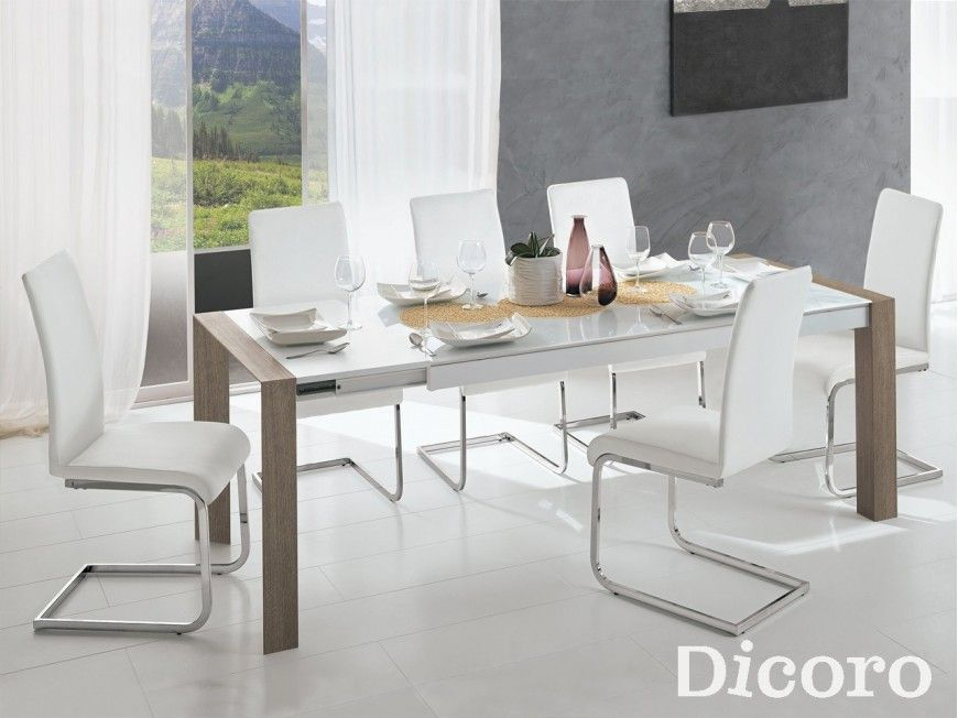 Mesa Elegant | Ideas para casita | Mesas de comedor baratas, Mesas ...