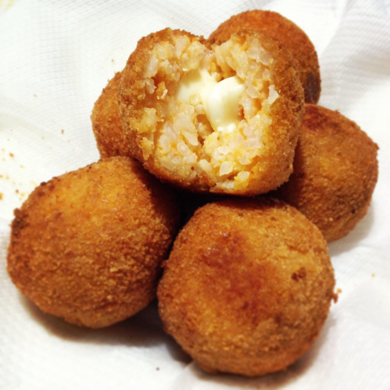 #Arancini #siciliani alla #zucca e #formaggio  buona #cena da #ricettelastminute! #love #food #formaggio #riso #risotto #foodie #sicilia #sicily #italy #italia #instafood #instaphoto