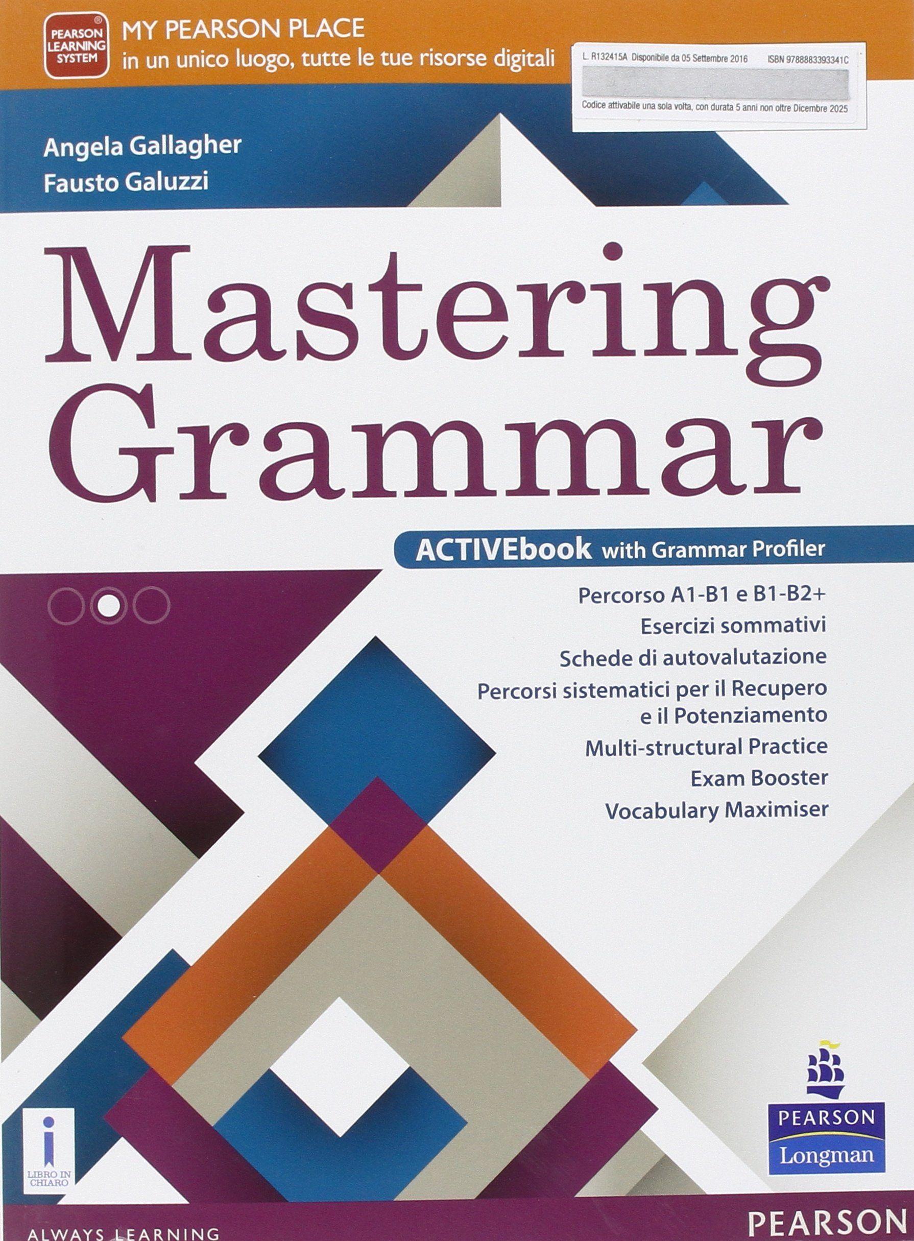 Mastering Grammar Per Le Scuole Superiori Con E Book Con Espansione Online Sponsored Le Scuole Mastering Grammar Nel 2020 Scuole Superiori Mastering Scuola