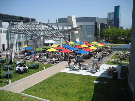google main office location. Great Outdoor Area At The Google #offices Main Office Location 7
