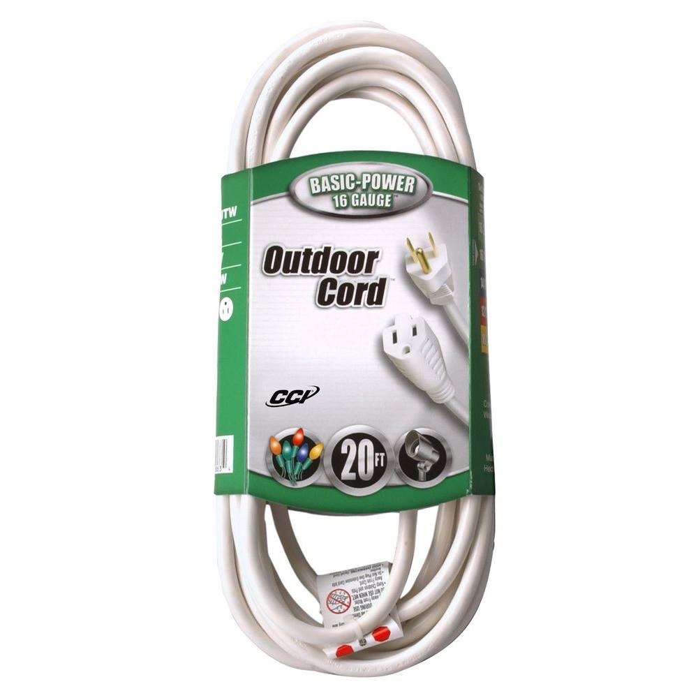Sjtw Outdoor Ligtht Duty Extension Cord
