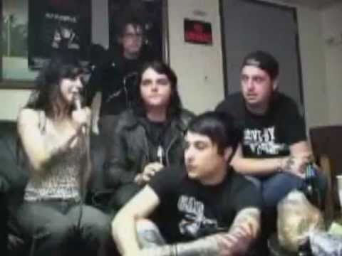 My Chemical Romance Interview on Burning Angel DVD (2004) russian