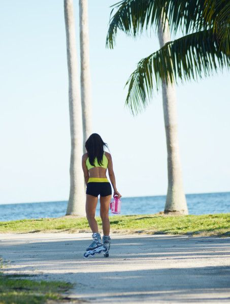 Rollerblading Roller Blading Beach Pictures Miami Inline Sport Outfits Workout