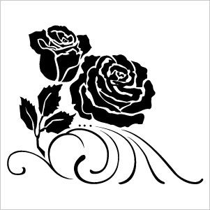Flower Silhouette Images - ClipArt Best | pic to see | Pinterest ...