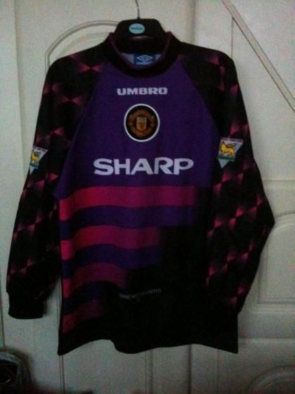 Manchester United Football Shirt 1996 1997 Classic Football Shirts Football Shirts Manchester United Football