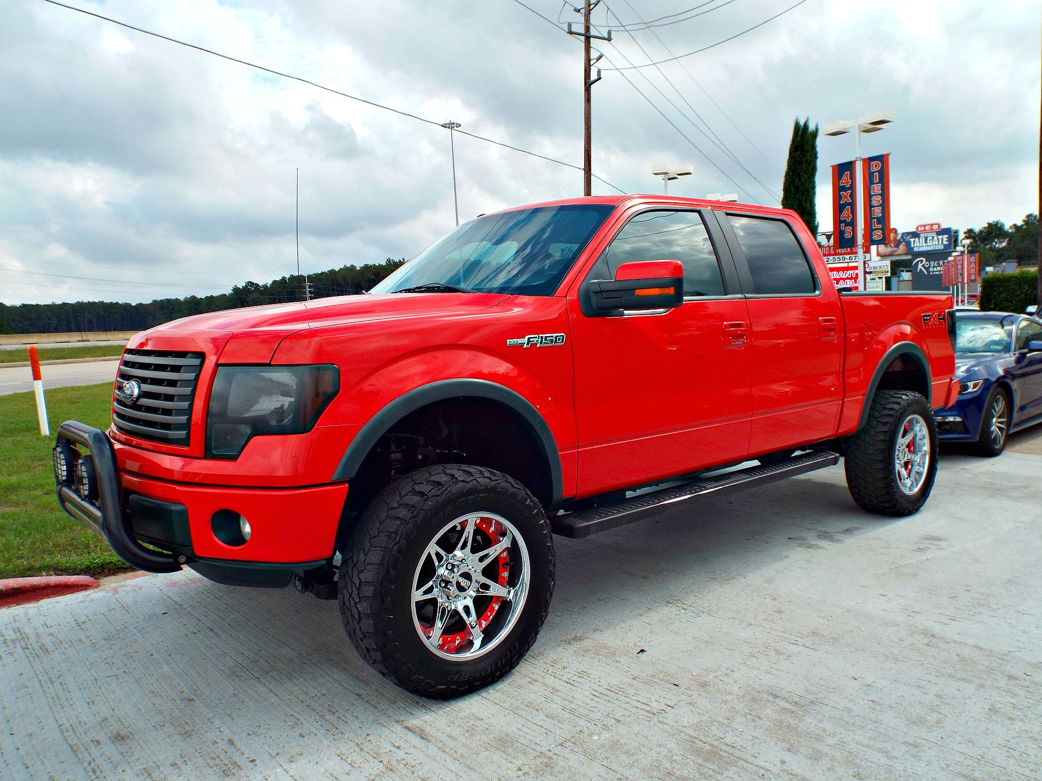 custom lifted 2011 ford f150 fx4