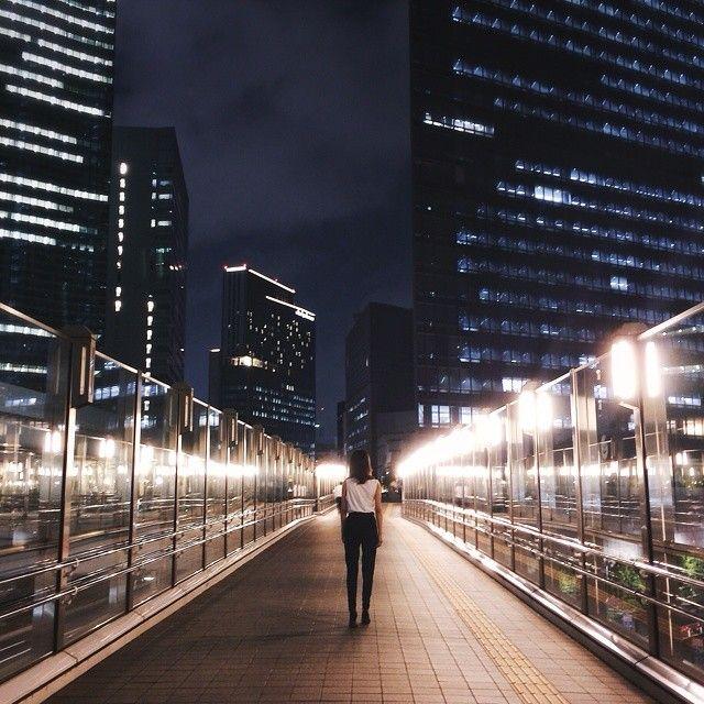 Shinbashi, Tokyo. | #LightisLife by Hiroaki Fukuda