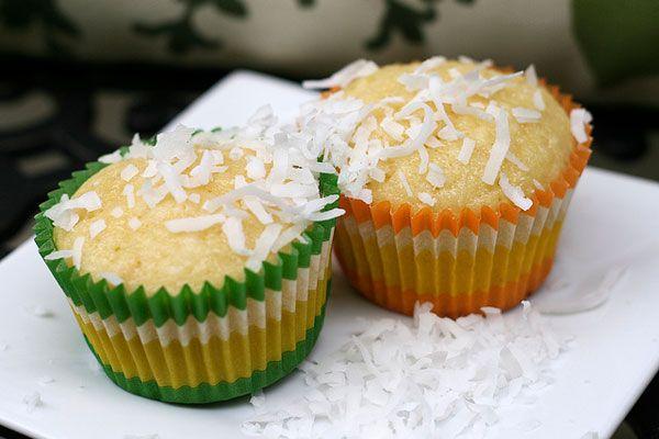 coconut orange muffins: instead of extract, use orange zest. swap milk for coconut milk