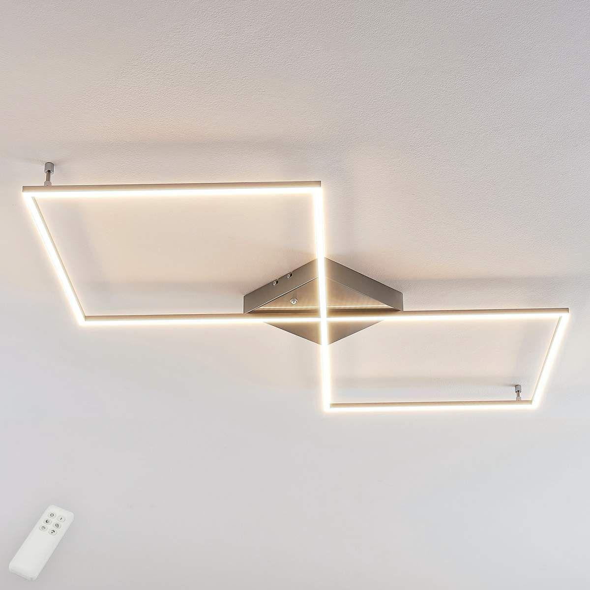 Geradlinige Led Deckenlampe Romee M Fernbedienung In 2020 Led Deckenlampen Led Deckenleuchte Deckenlampe