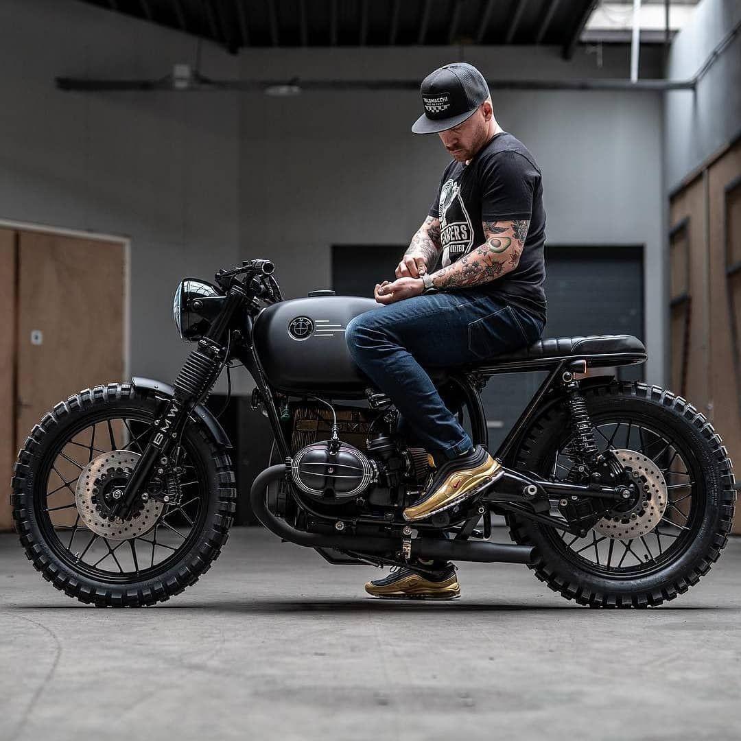 Bmw Scrambler R100 Tattoo Allblack Twin Vintage Twoseater Garagelife Tattoos Duo Bmw Motorbikes Cafe Racer Motorcycle Cafe Racer [ 1080 x 1080 Pixel ]