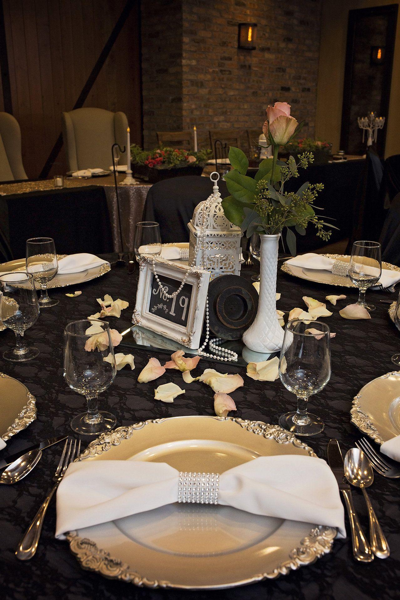 Industrial Elegant Wedding Reception In Southern Wisconsin