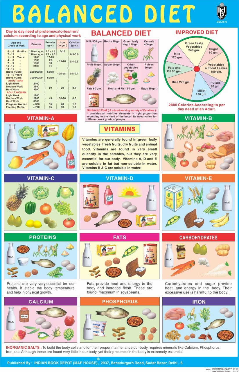 Eat right balanced diet chart best weight loss ways to lose also pin by indian book depot map house on school posters rh pinterest