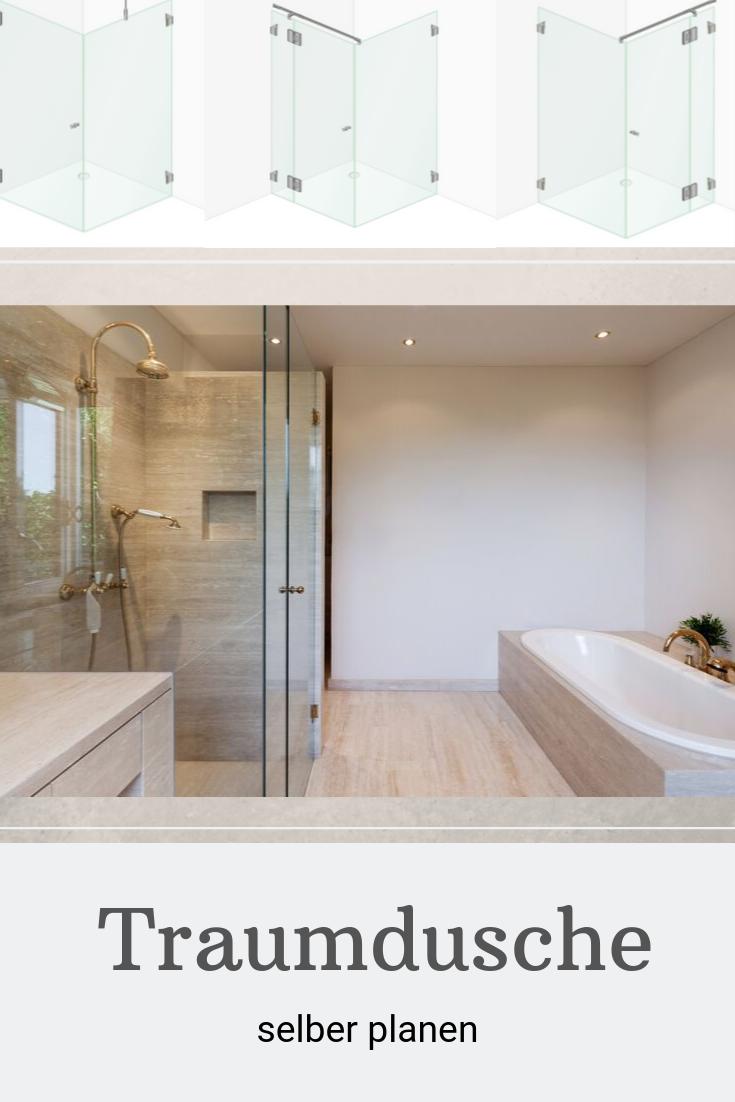 Duschkabine Traumdusche Dusche Badgestaltung