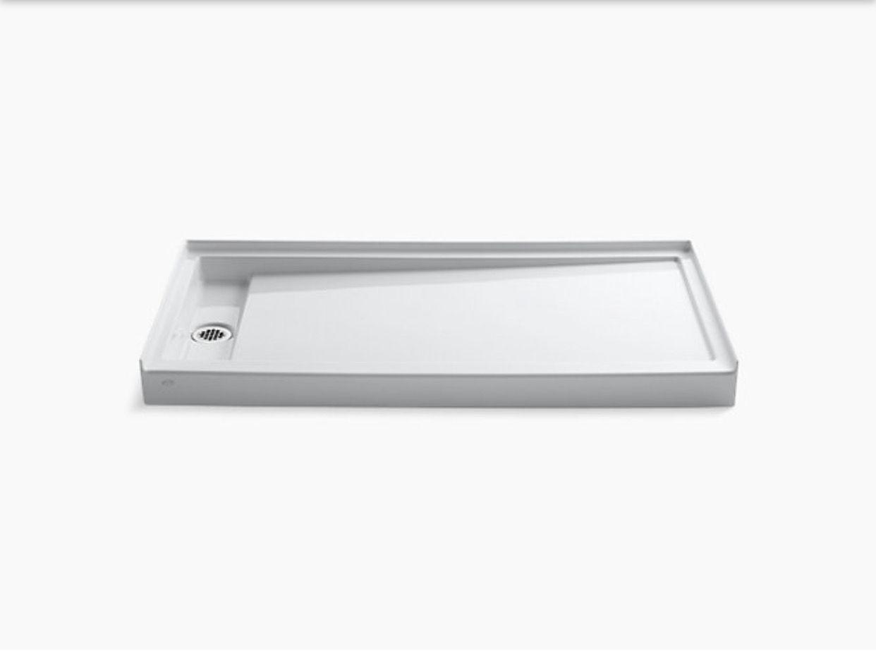Kohler Groove 60 X 30 Shower Base Optional Teak Or
