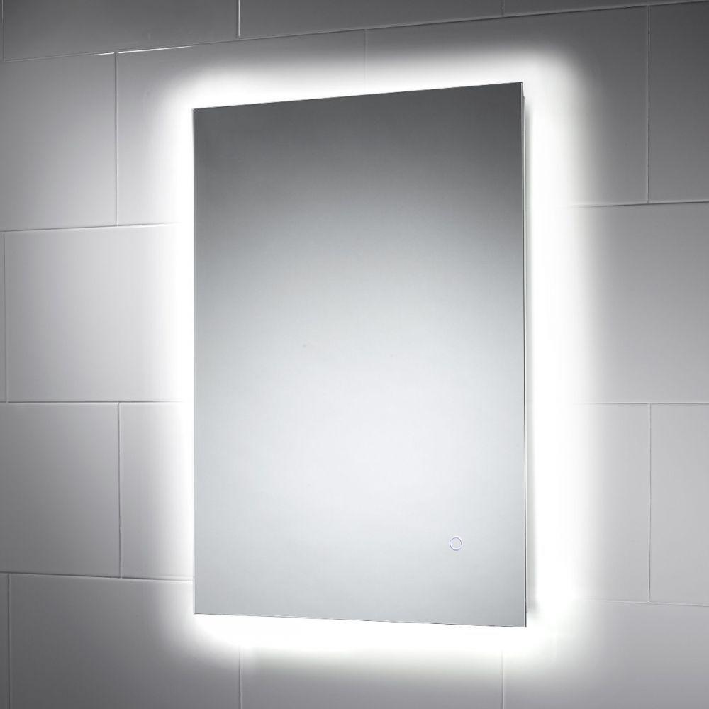 Savannah LED Illuminated Bathroom Mirror | downstairs loo ...