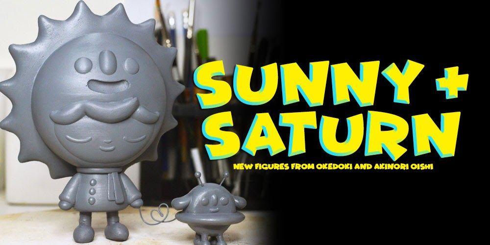 "Okedoki x Akinori Oishi - ""Sunny & Saturn"" new figures teased!!! #3DPrinting #Artist #Cute #DesignerToyArtToy #Okedoki"