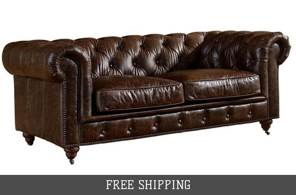century chesterfield arm chair light brown leather in 2019 rh pinterest com