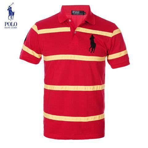00c26632657ed Camisetas Polo Hombre OL64 Camisetas Polo Ralph Lauren Hombre Manga Corta  Rayas y Precios Mas Bajos