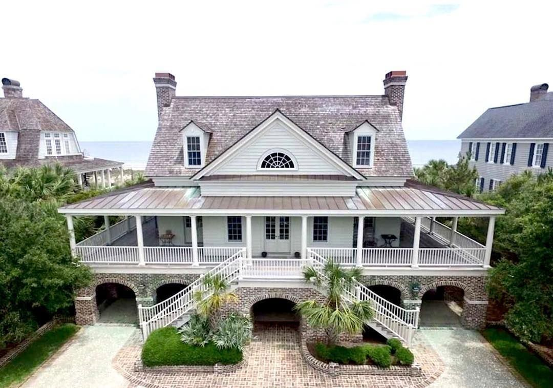 southern home on instagram u201cthe wraparound porch on this south rh pinterest es