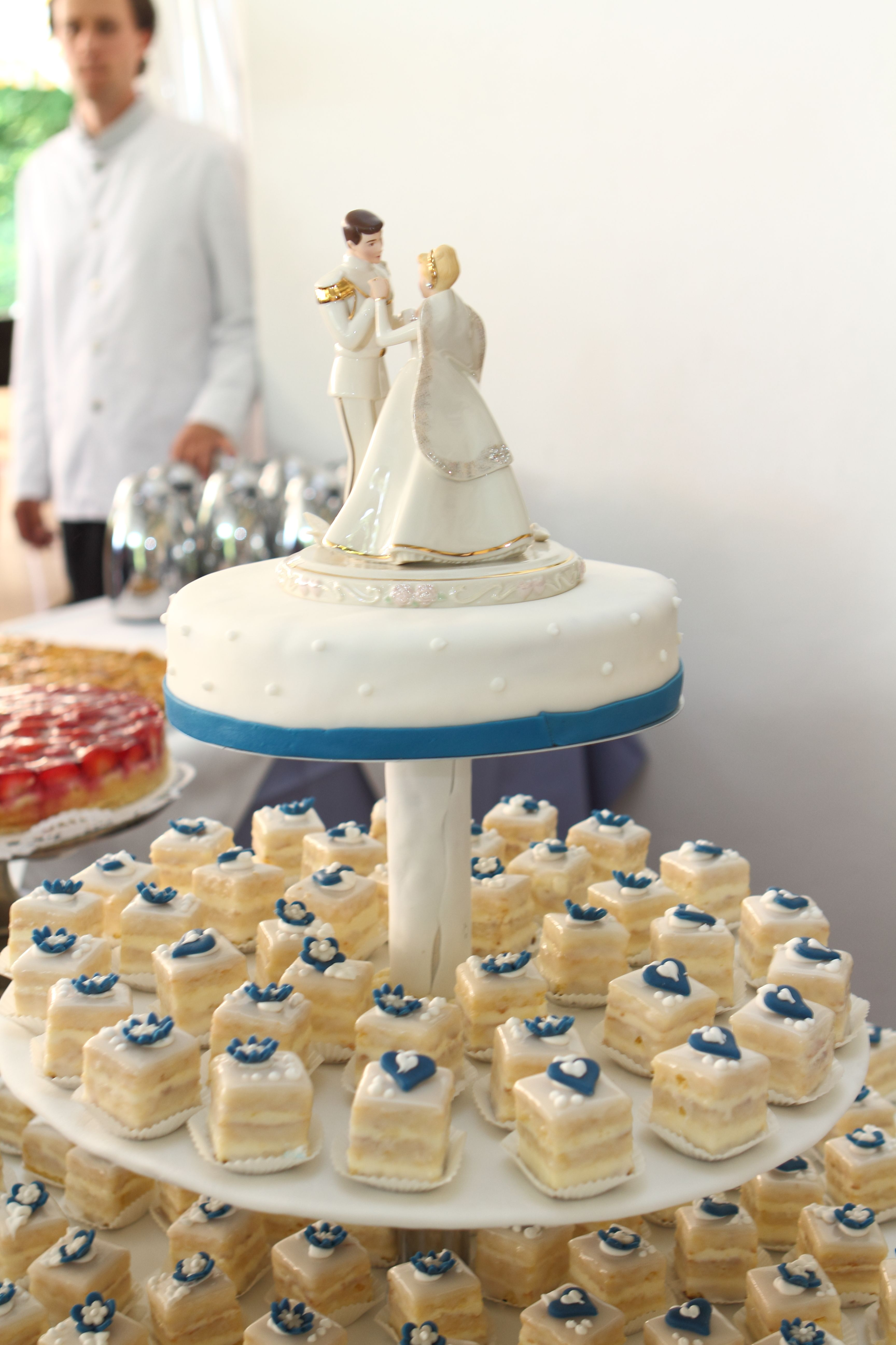 Love this. Pre-cut the cake into petit fors! | Cake | Pinterest ...
