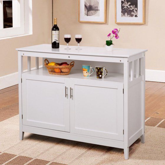 costway modern kitchen storage cabinet buffet server table sideboard rh ar pinterest com