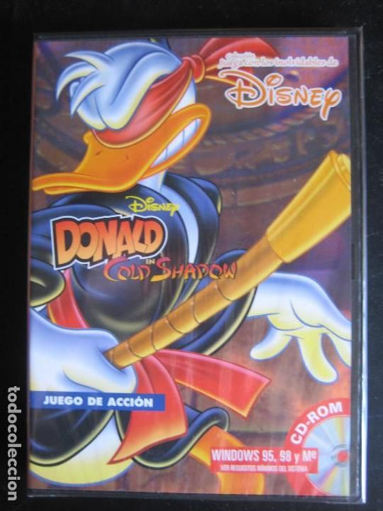 Videojuego Pc Cd Rom Donald In Cold Shadow Disney Windows 95 Y