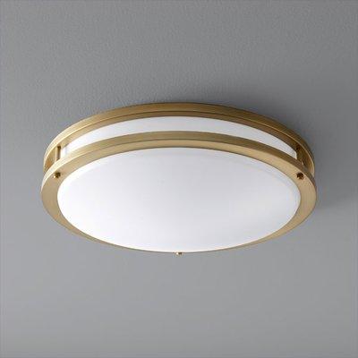 oxygenlighting oracle 1 light led flush mount products rh pinterest com