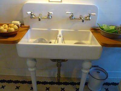 The kitchen sink   Pittock Mansion   Pinterest   Mansion, Kitchens ...