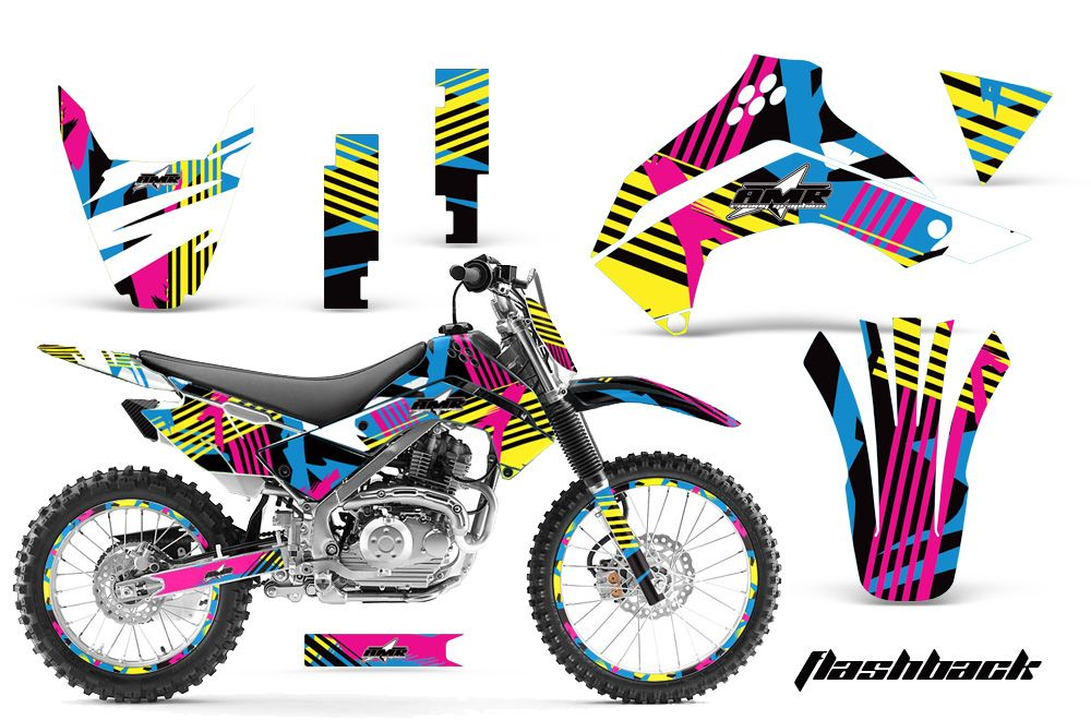 Kawasaki KLX140 Graphics Kit 2008-2013  Over 70 designs