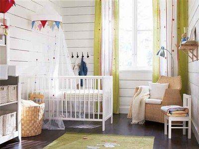 Les différents sols - Chambre bébé: des idées de décoration chambre bébé - ©Chambre bébé Ikea Le parquet est facile à nettoyer et ne garde pas la poussière. Il limite donc les risques d'allergies. Il résiste très bien à l'usure et reste très esthétique...