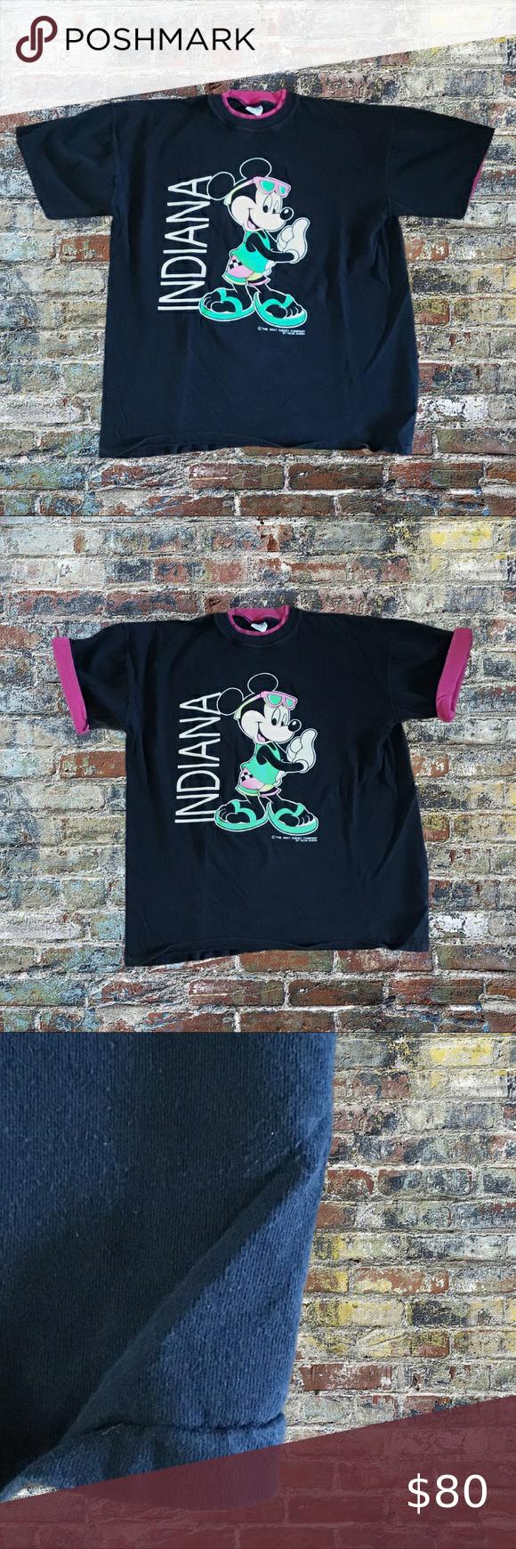 Vintage 80s Walt Disney Mickey Mouse Velma Sheen T-Shirt