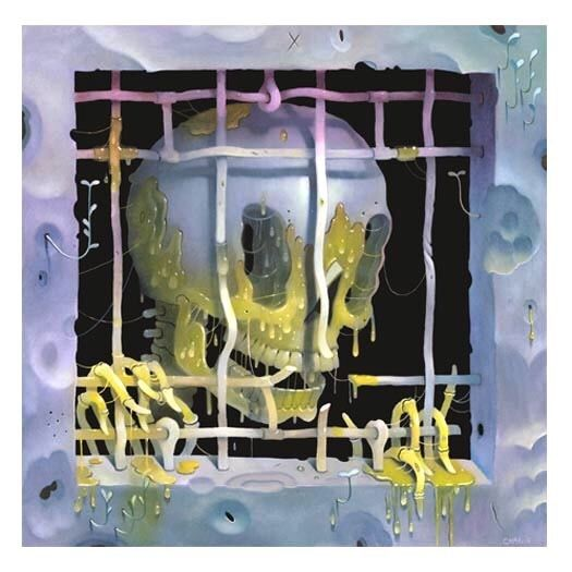 Dripping Behind Bars by Charlie Immer