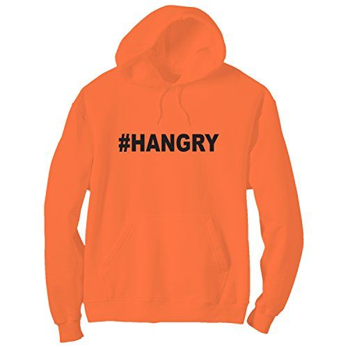 #Hangry Bright Neon Orange Adult Pullover Hoodie - Small ZeroGravitee http://www.amazon.com/dp/B01BYSX97W/ref=cm_sw_r_pi_dp_hDCZwb12D72M0