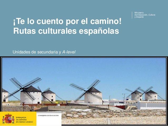 Rutas culturales españolas