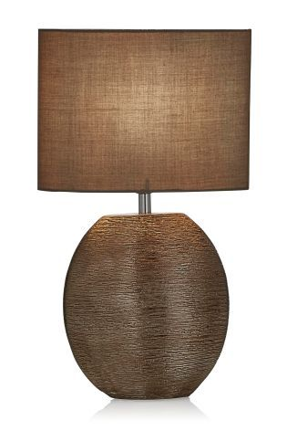 Buy Copper Scratch Ceramic Table Lamp from the Next UK online shop ...