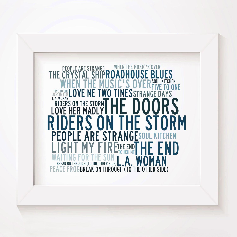 Anthology Bob Dylan Poster Print Lyrics Gift Signed Art
