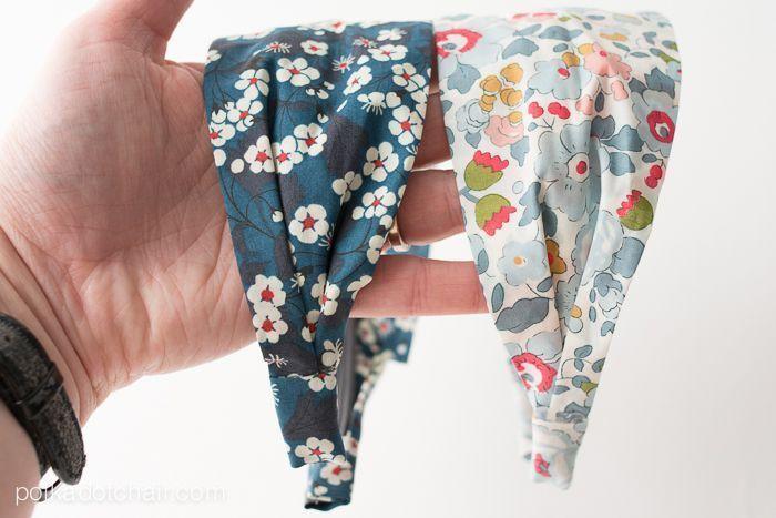 diy fabric headband sewing pattern on. Black Bedroom Furniture Sets. Home Design Ideas