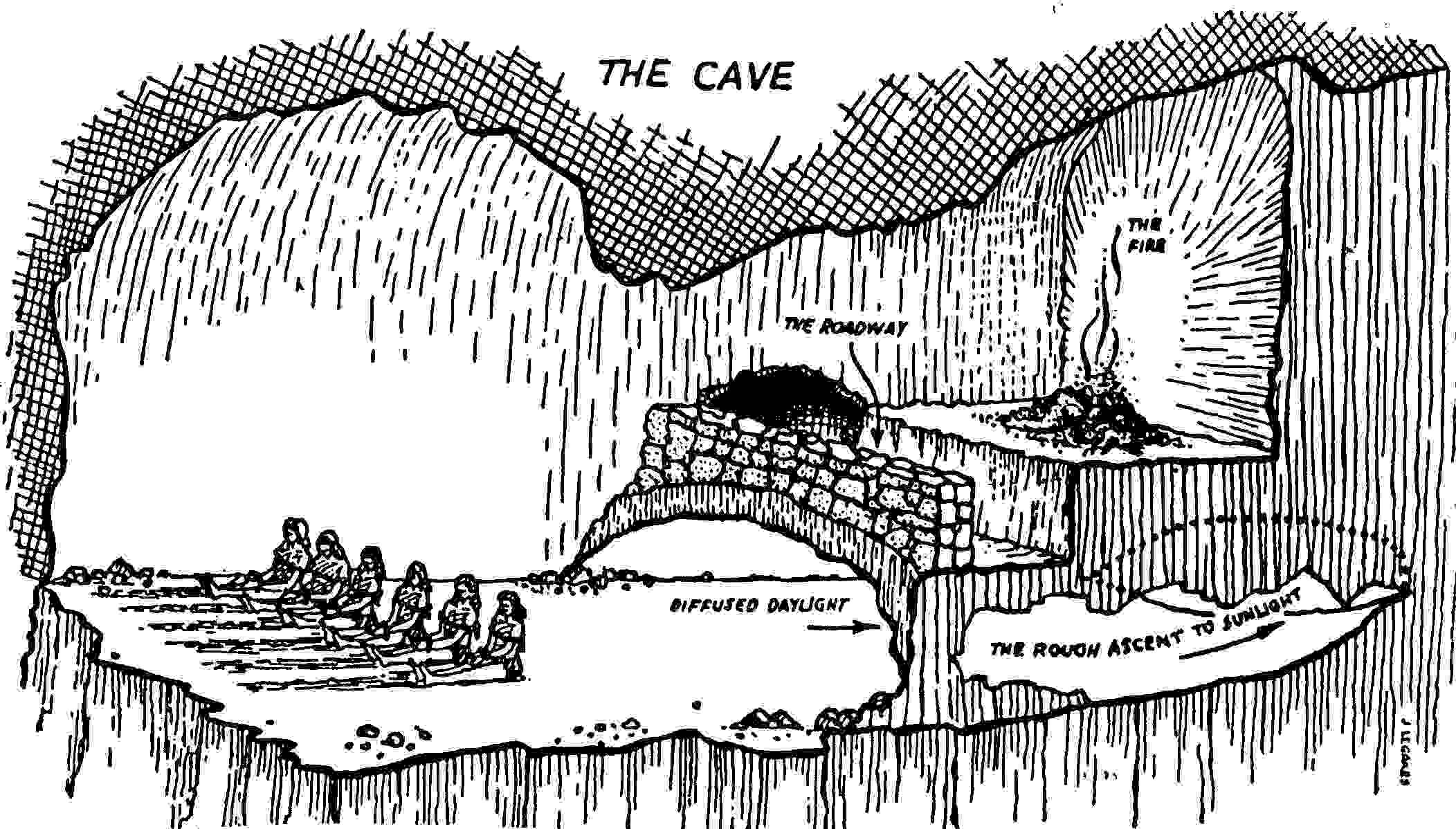 plato cave hledat googlem philosophy pinterest cave