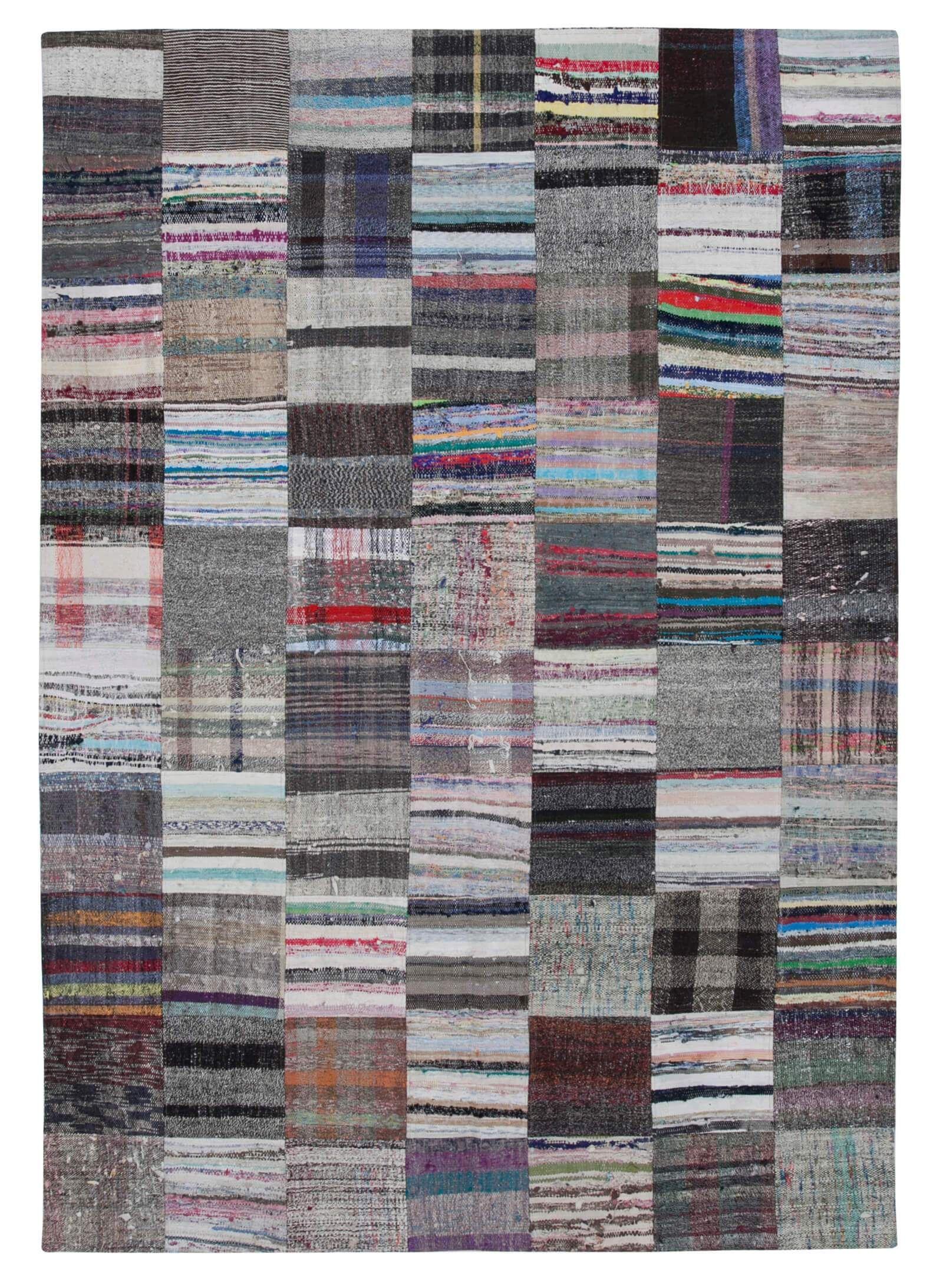 Turkish Handmade Kilim Patchwork Rug