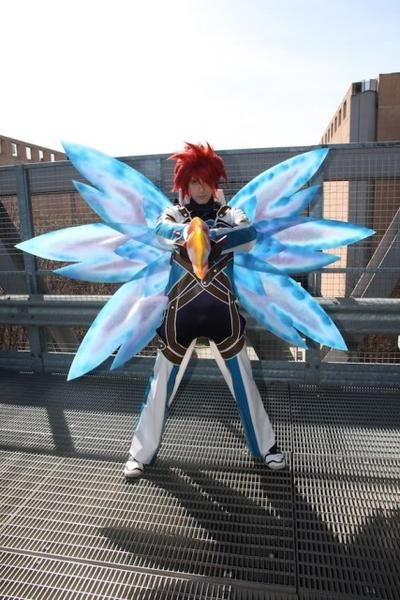 9fa13df78b630 Tales of Symphonia: Kratos Cosplay (Judgement) w/ Wings! | cosplays ...